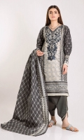 Front Lawn Print Embroidered length 1.25m Back & Sleeve Lawn Printed length 2.0m Lawn Printed Dupatta length 2.5m Shalwar length 2.5m