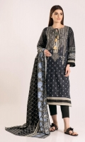 Front & Back Lawn Print Embroidered length 2.5m Sleeve Lawn Printed length 1.0m Lawn Printed Dupatta length 2.5m Shalwar length 2.5m