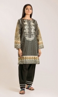 Front & Back Lawn Print Embroidered length 2.5m Sleeve Lawn Printed length 0.75m Shalwar length 2.5m