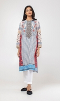 Long Printed Kurta