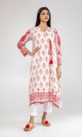 Embroidered overlap kurta.