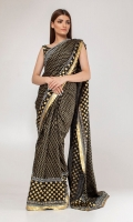 Silk Block Printed Saree