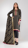 Two-piece luxurious straight silk kurta with traditional block print on sumptous silk paired with printed dupatta.