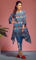 Printed Lawn Shirt 3m Embroidered Lawn Shalwar 2.5m