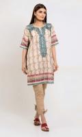 Embroidered Lawn Print Shirt 3.0m - Shalwar 2.5m