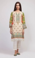 Front & Sleeve Lawn Print Embroidered 2.0m Back Lawn Printed 1.25m Shalwar 2.5m