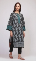 Front & Sleeve Lawn Printed 2.0m Back Lawn Printed 1.25m Shalwar 2.5m Embroidered Gala & Patti