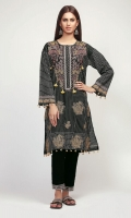 Hand Loom Embroidered Shirt 3.25m Hand Loom Shalwar 2.5m