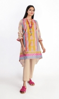 Front Lawn Printed 1.25m Back & Sleeve Lawn Printed 2.0m Shalwar 2.5m