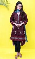 Embroidered Lawn Shirt 3m Lawn Shalwar 2.5m Lawn Dupatta 2.5m
