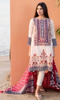 Embroidered Lawn Shirt 2m Lawn Shirt 1.25m Lawn Shalwar 2.5m Lawn Dupatta 2.5m