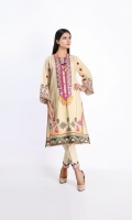 Dobby Print Embroidered Shirt 3.0m Embroidered Shalwar 2.5m