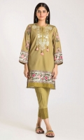 Front Cambric Print Embroidered 1.25m Back & Sleeve Cambric Printed 2.0m Shalwar 2.0m