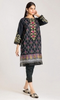 Front & Back Cambric Print Embroidered 2.5m Sleeve Cambric Print Embroidered 1.0m Shalwar 2.5m