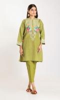 Cross Hatch Embroidered Shirt 2.5m Shalwar 2.5m