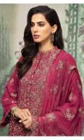 Shirt: - Embroidered Karandi Dupatta: - Embroidered Chiffon Trouser: - Dyed Karandi