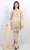 GOLD JACQUARD – READY TO WEAR SHIRT+TROUSER+DUPATTA