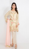 CHIFFON – READY TO WEAR SHIRT+SLIP+DUPATTA