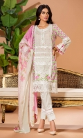 LAWN SHIRT, CAMBRIC TROUSERS, POLY CHIFFON DUPATTA
