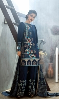 Shirt: Front: Embroidered/Dyed	1.25 Meters Shirt: Back: Dyed	1.25 Meters Dupatta: Printed	2.5 Meters Sleeves: Embroidered/Dyed	1 Pair	 Trouser: Embroidered/Dyed 2.5 Meters Weight: 1.3 kg