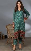 Printed Luxury Pret Silk Kurti