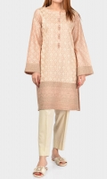 Shirt with full embroidered front Pearls and crystals on placket Full embroidered sleeves
