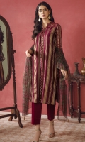 Jacquard Shirt Fabric Printed Zari Organza Dupatta (2.5 Meter)
