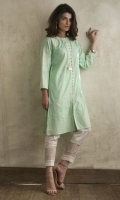 Dupatta : Broshia Net Dyed Shirt Front : Dyed Embroidered Trouser