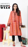 Lawn Digital printed straight kurta , embellished with intricate hand made tassals dori.