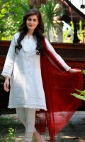 CHIKANKARI KURTA BOAT NECK STRAIGHT SLEEVES STRAIGHT HEIM