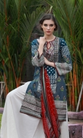 Dupatta : Chiffon-Printed2.5 Meters Shirt Front :Printed-Embroidered1.25 Meters Shirt Back :Printed 1.25 Meters Sleeves :Printed-Embroidered1 Pair Trouser Dyed2.5 Meters Border :Printed1 Piece Border :Printed2 Pieces Border :Embroidered1 Piece Border : Embroidered1 Piece