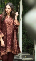Printed Pashmina Unstitched 3 Piece Suit