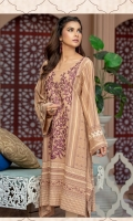 Embroidered Cotton Unstitched Kurti