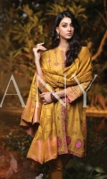embroidered woven unstitched 3pc suit