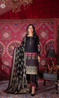 LUXURY HEAVY EMBROIDERED & BORING FRONT LUXURY EMBROIDERED BACK LUXURY EMBROIDERED SLEEVES LUXURY JACQUARD LAWN BANARSI DUPPATA CAMBRIC COTTON TROUSER