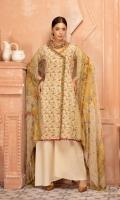 Cotton Thread Chikankari Lawn Embroidered Crinckle Dupatta Plain trouser