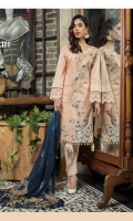 Shirt: Digital Printed Lawn Dupatta : Embroidered Chiffon Sleeves : Digital Printed Lawn Trouser : Dyed Embroidery 1. Embroidered Yock 2. Embroidered Chiffon Dupatta 3. Embroidered Pallu for Dupatta