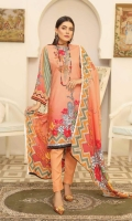 Embroidered Chikankari Pashmina Wool Shawl Plain Trouser