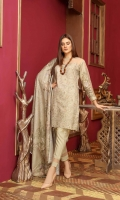 Embroidered Chikankari Slub Linen Slub Linen Shawl Plain Trouser