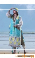 Embroidered Unstitched Three Piece Suit