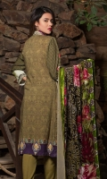 Digital Shirt 3 Mtr Palachi Dupatta 2.5 Mtr Trouser 2.5 Mtr Embroidered 2Pcs Neck