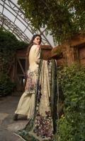 Digital Shirt 3 Mtr Palachi Dupatta 2.5 Mtr Trouser 2.5 Mtr Embroidered 1Pcs Neck