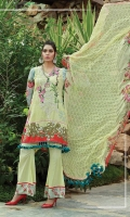 Self Viscose Printed Jacquard Along With Sequins Dupatta Embroidered Trouser