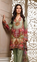 Printed Lawn Unstitched 3 Piece Suit