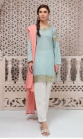 3 piece Shirt, Shalwar and Dupatta  Printed lawn shirt with embroidered neck and sleeves Cotton Shalwar Lawn dupatta