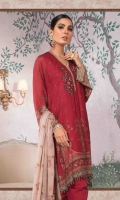100% Pure Hand Woven Silk Net shirt Chinese chiffon dupatta Cotton satin trouser Lawn undershirt Hand embroidered and embellished neckline lace Hand embellished neckline motifs 2 pieces Embroidered pearls sleeves lace