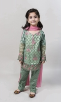 3 Piece Shirt Dupatta and Trouser