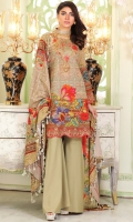 Print Embroidered Wool Shirt Printed Wool Shawl Plain Dyed Trouser