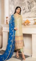 EMBROIDERED MESORI FRONT, BACK & SLEEVES EMBROIDERED GRIP DAMAN PATCHES EMBROIDERED NECK PATCH EMBROIDERED SLEEVES PATTI EMBROIDERED CHIFFON DUPATTA GRIP TROUSER