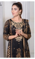 Embroidered Front Printed Back Printed Sleeves Printed Trousers Printed Lawn Dupatta